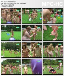 Naturist Freedom video – Children afternoon