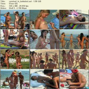 Enature nudism video – Carnival in koktebel