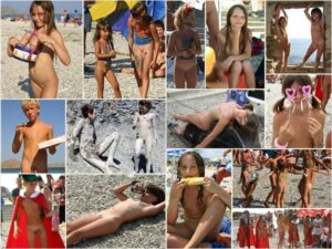 Young nudists photo – Crimean beach series
