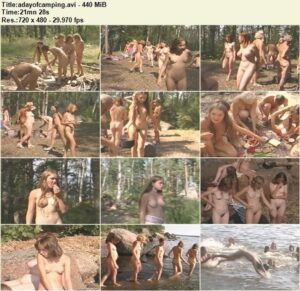 Read more about the article Nudism video – A day of camping
