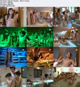 Read more about the article Naturist Freedom video – Girls in sauna