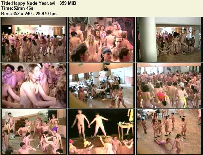 Documentary nudism video – Happy nude year