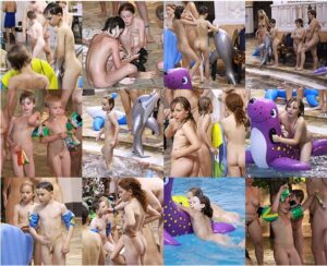 Read more about the article Young nudists photo – Indoor waterslide day