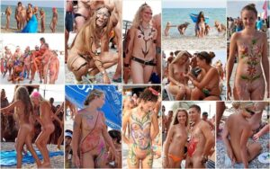 Young nudists photo – Koktebel sunny art festival