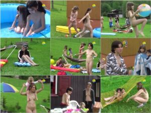 Naturist Freedom – family video – Meadow