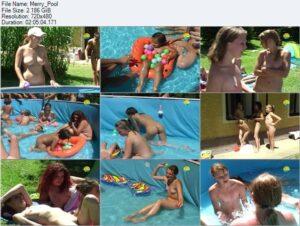 Naturist Freedom video – Merry pool
