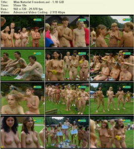Naturist Freedom video – Miss naturist freedom