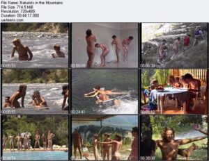 Read more about the article Nudism video – Naturists in the mountains