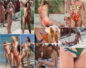 Young nudists photo – Neptune day all get ready