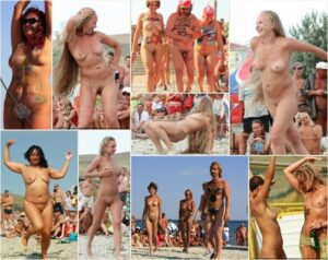 Young nudists photo – Neptune woman dancing