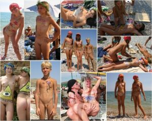 Read more about the article Young nudists photo – Nude body painting