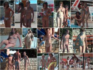 Young nudists photo – Purenudism naturist pool
