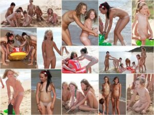 Read more about the article Young nudists photo – Sandy beach getaway