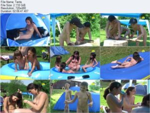 Read more about the article Naturist Freedom video – Tents