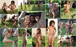 Young nudists Brazil photos – Tropical nature fun