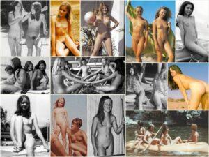 Retro nudism gallery photo – Vintage nudists [set 3]