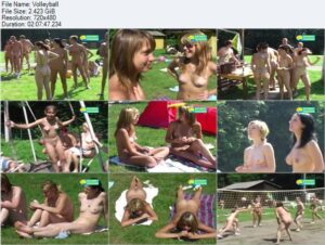 Read more about the article Naturist Freedom video – Volleyball