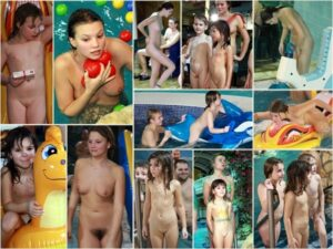 Young nudists photo – Waterpark day party