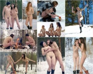 Read more about the article Young girls nudists photo – Winter outdoor