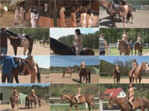 Read more about the article Nudism video – Horseriding at a barn [vol 1]