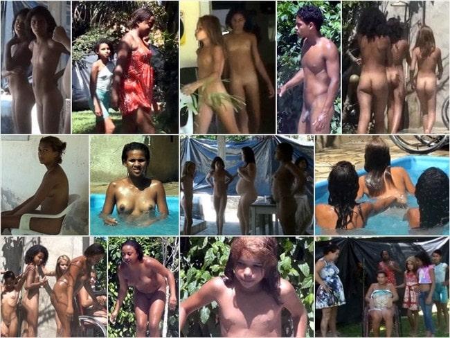 Nudism Brazil video – Oceanic backyard noon [vol 1]