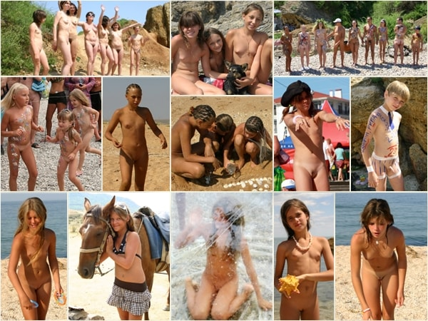 Young nudists photo