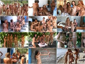 Video of family nudism – Rocky coast party [vol 3]