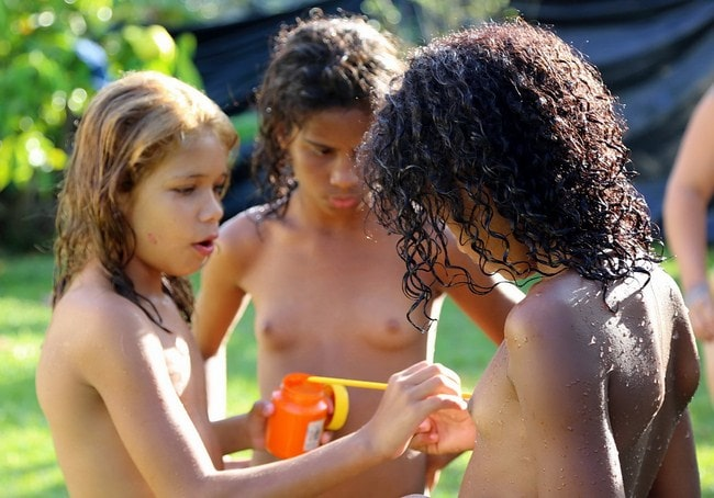 Young nudists Brazil